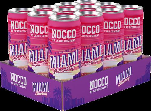 Nocco BCAA Miami Strawberry (12 x 250 ml)