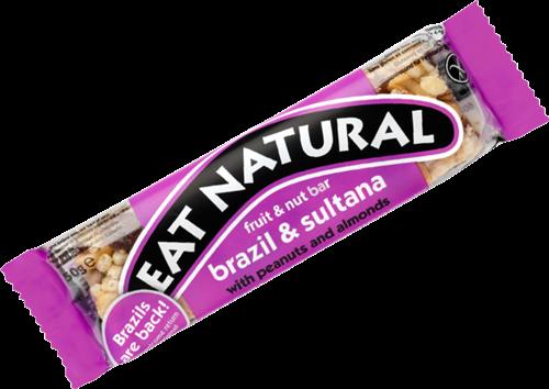 Eat Natural Fruit & Nut Bar Brazil & Sultana (1 x 50 gr)