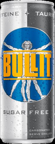 Bullit Energy Drink Sugar Free (24 x 250 ml)