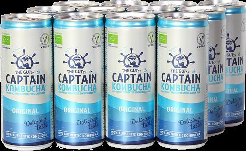 Captain Kombucha Original (12 x 250 ml)