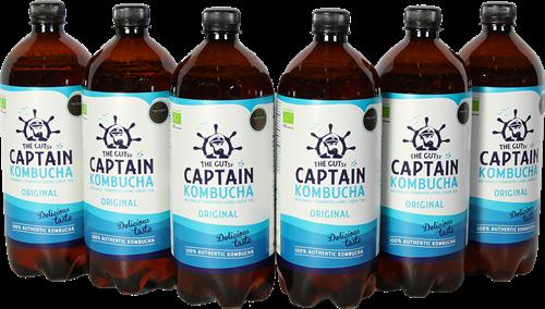 Captain Kombucha Original (6 x 1000 ml)
