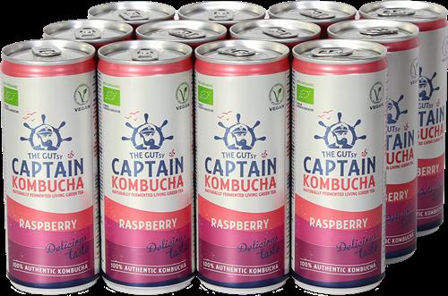Captain Kombucha Raspberry (12 x 250 ml)