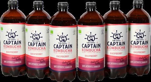 Captain Kombucha Raspberry (6 x 1000 ml)