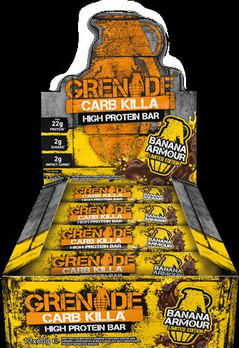 Carb Killa Bar Banana Armour (12 x 60 gr)