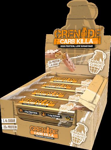 Carb Killa Bar Caramel Chaos (12 x 60 gr)