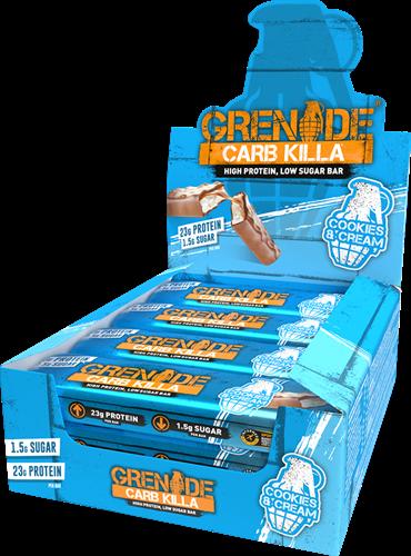Carb Killa Bar Cookies & Cream (12 x 60 gr)