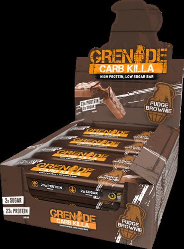 Carb Killa Bar Fudge Brownie (12 x 60 gr)