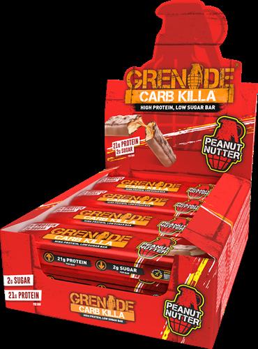 Carb Killa Bar Peanut Nutter (12 x 60 gr)