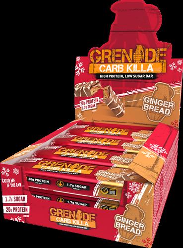 Carb Killa Bar Gingerbread (12 x 60 gr)