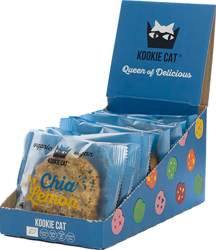 Kookie Cat Chia Lemon (12 x 50 gr)