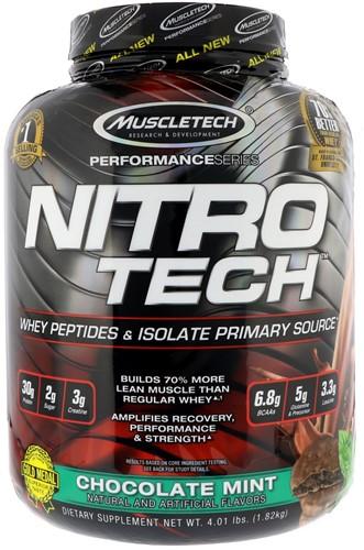Performance Series Nitro Tech Chocolate mint (1800 gr)