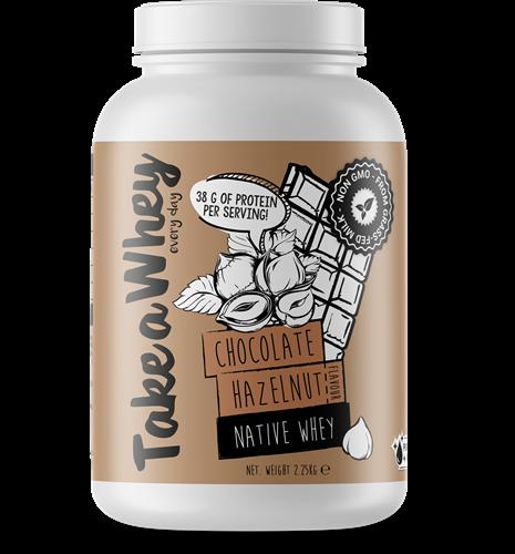 Take-a-whey Native Whey Chocolate Hazulnut (2250 gr)