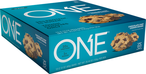 Oh Yeah! One Bar Chocolate Chip Cookie Dough (12 x 60 gr)