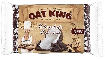 Oatking Oat Energy Bar Chocolate Coconut (10 x 95 gr)