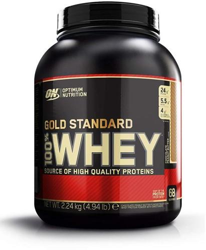 Gold Standard 100% Whey Chocolate Peanut Butter (2270 gr)