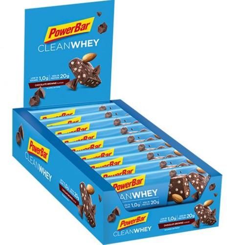 Clean Whey Bar Chocolate Brownie (18 x 45 gr)