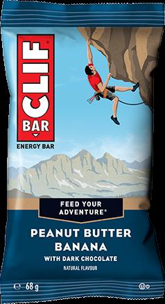 Clif Bar Peanut Butter Banana (12 x 68 gr)