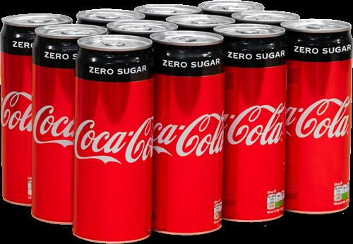 Coca-Cola Zero Original (12 x 330 ml)