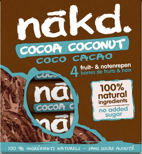 Nakd Bars Cocoa Coconut (4 x 35 gr)