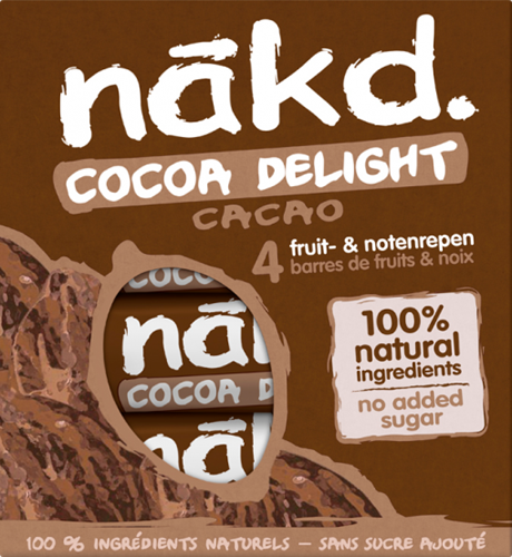 Nakd Bars Cocoa Delight (4 x 35 gr)