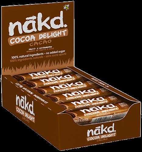 Nakd Bars Cocoa Delight (18 x 35 gr)