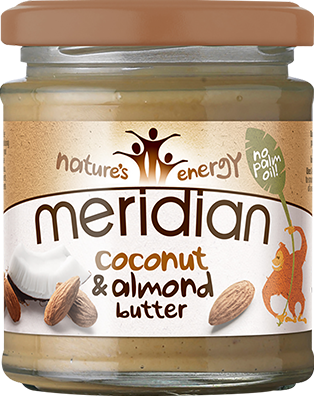 Meridian Coconut & Almond Butter Smooth (170 gr)