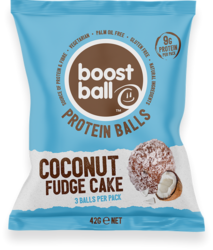 Boostball Protein Balls Coconut Fudge Cake (12 x 42 gr)