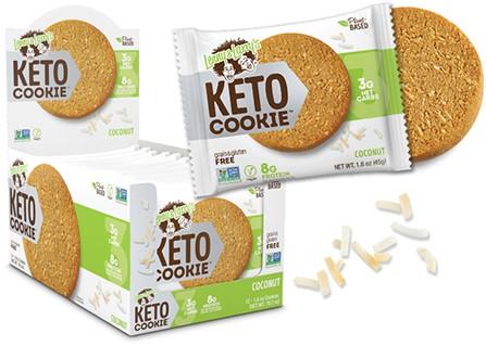 Keto Cookie Coconut (12 x 45 gr)