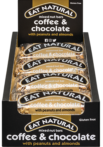 Eat Natural Mixed Nut Bar Coffee & Chocolate (12 x 45 gr)