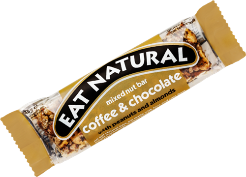 Eat Natural Mixed Nut Bar Coffee & Chocolate (1 x 45 gr)