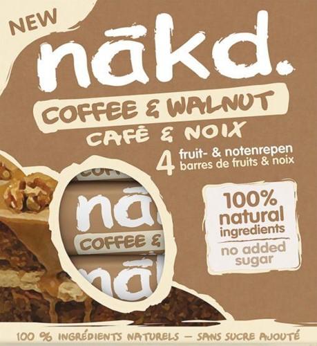 Nakd Bars Coffee & Walnut (4 x 35 gr)