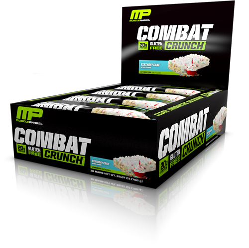 Combat Crunch Bars Birthday Cake (12 x 63 gr)