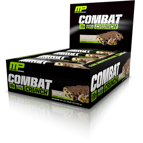 Combat Crunch Bars Chocolate Chip Cookie Dough (12 x 63 gr)