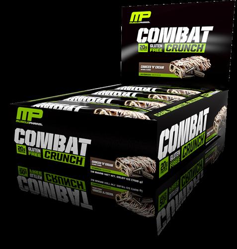 Combat Crunch Bars Cookies & Cream (12 x 63 gr)