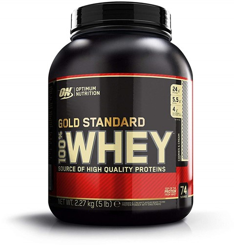Gold Standard 100% Whey Cookies & Cream (2270 gr)