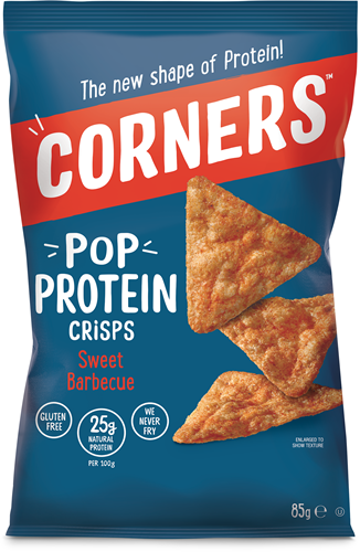 Pop Protein Crisps Sweet Barbecue (8 x 85 gr)