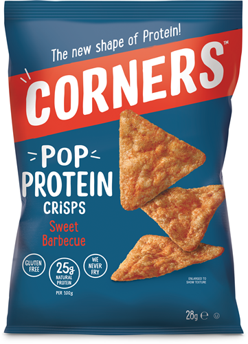 Pop Protein Crisps Sweet Barbecue (1 x 28 gr)