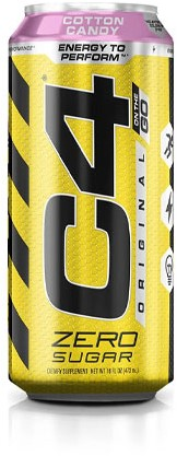 C4 Carbonated Cotton Candy (1 x 473 ml)