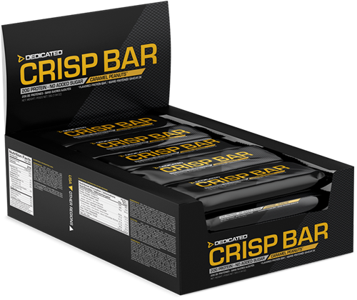 Crisp Bar White Chocolate Peanut Butter Caramel (15 x 55 gr)