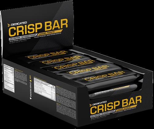 Dedicated Crisp Bar Caramel Peanuts (15 x 55 gr)