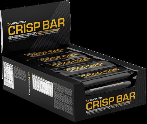 Dedicated Crisp Bar Chocolate Caramel (15 x 55 gr)