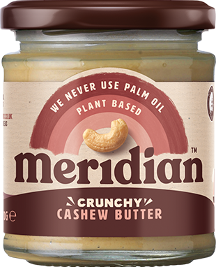 Meridian Cashew Butter Crunchy (170 gr)