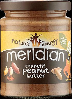 Meridian Peanut Butter Crunchy (280 gr)