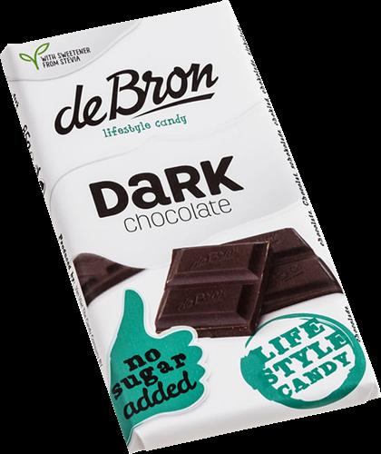 De Bron Suikervrije Chocola (85 gr)