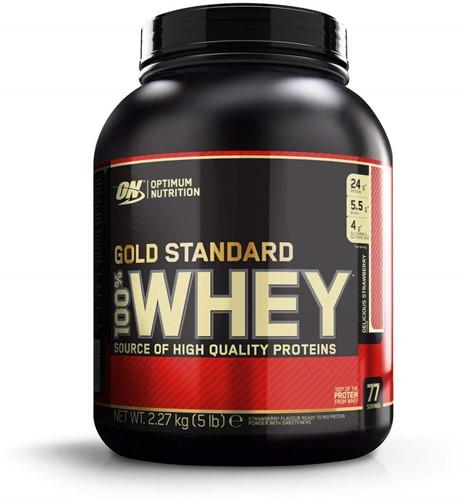 Gold Standard 100% Whey Strawberry (2270 gr)