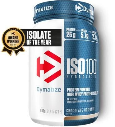 Dymatize Iso 100 Hydrolized Chocolate Coconut (900 gr)