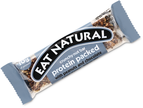 Eat Natural Protein Packed Bar Peanut Chocolate (1 x 45 gr)