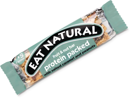 Eat Natural Protein Packed Bar Salted Caramel Peanut (1 x 45 gr)