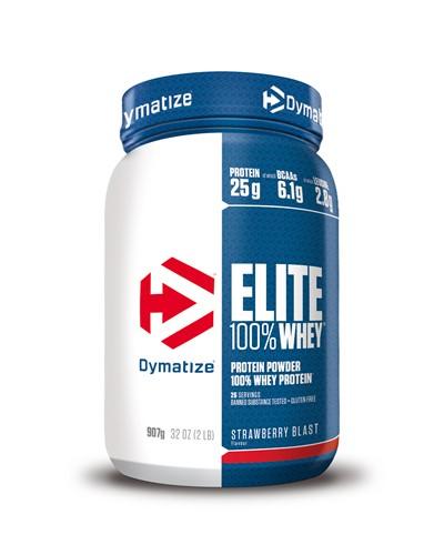 Dymatize Elite Whey Protein Strawberry (907 gr)