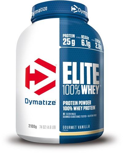 Dymatize Elite Whey Protein Gourmet Vanilla (2100 gr)